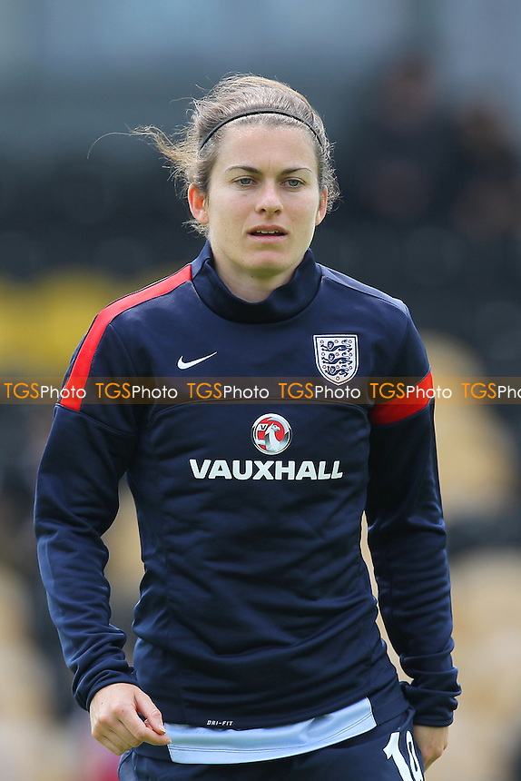 Karen Carney of England - England Women vs Japan Women - Friendly Football International at the Pirelli Stadium, Burton Albion FC - 26/06/13 - MANDATORY CREDIT: Gavin Ellis/TGSPHOTO - Self billing applies where appropriate - 0845 094 6026 - contact@tgsphoto.co.uk - NO UNPAID USE