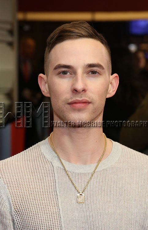 """Adam Rippon attends the Broadway Opening Night Performance of """"To Kill A Mockingbird"""" on December 13, 2018 at The Shubert Theatre in New York City."""