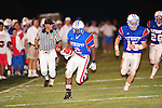 John Curtis running back Jordan Frost scampers 30 yards for a touchdown on a pass from Bryce Jenkins as John Curtis went on to defeat Newman 34-7.