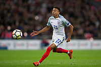 England's Jesse Lingard in action <br /> <br /> Photographer Craig Mercer/CameraSport<br /> <br /> FIFA World Cup Qualifying - European Region - Group F - England v Solvenia - Thursday 5th October 2017 - Wembley Stadium - London<br /> <br /> World Copyright &copy; 2017 CameraSport. All rights reserved. 43 Linden Ave. Countesthorpe. Leicester. England. LE8 5PG - Tel: +44 (0) 116 277 4147 - admin@camerasport.com - www.camerasport.com
