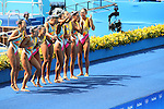 Japan team group (JPN), <br /> AUGUST 19, 2016 - Synchronized Swimming : <br /> Teams Free Routine Final <br /> at Maria Lenk Aquatic Centre <br /> during the Rio 2016 Olympic Games in Rio de Janeiro, Brazil. <br /> (Photo by Yohei Osada/AFLO SPORT)