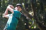 Paul Peterson of USA tees off during the 58th UBS Hong Kong Golf Open as part of the European Tour on 09 December 2016, at the Hong Kong Golf Club, Fanling, Hong Kong, China. Photo by Vivek Prakash / Power Sport Images
