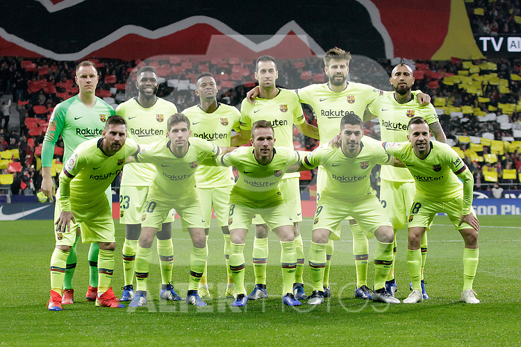 Futbol Club Barcelona's team  during La Liga match. November 24,2018. (ALTERPHOTOS/Alconada)