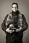 Portrait. Richard Karp- photographer and motorcyclist.