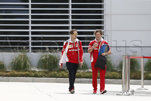 01.04.2016. Bahrain. FIA Formula One World Championship 2016, Grand Prix of Bahrain, Practise day.  5 Sebastian Vettel ger Scuderia Ferrari
