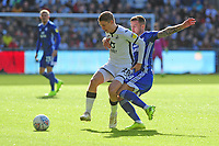 George Byers of Swansea City vies for possession with Joe Ralls of Cardiff City during the Sky Bet Championship match between Swansea City and Cardiff City at the Liberty Stadium in Swansea, Wales, UK. Sunday 27 October 2019