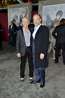 Stephen Lang and Hugo Weaving at the premiere of 'Mortal Engines at the  Regency Village Theatre in Westwood, California on December 5, 2018. Credit: Action Press/MediaPunch ***FOR USA ONLY***