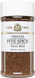 30540 Chinese Five Spice, Small Jar 1.7 oz, India Tree Storefront