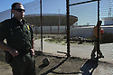 A U.S. Border Patrol agent patrols Friendship Park in 2009 soon after access to the border fence had become forbidden on the U.S. side.  photo for the North County Times