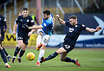 Dundee v St Johnstone&hellip;29.12.18&hellip;   Dens Park    SPFL<br />Tony Watt&rsquo;s shot is blocked by Andrew Boyle<br />Picture by Graeme Hart. <br />Copyright Perthshire Picture Agency<br />Tel: 01738 623350  Mobile: 07990 594431