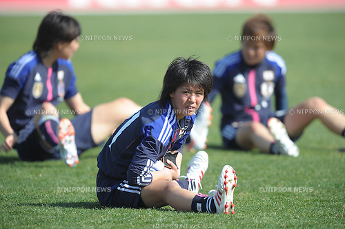 Mai Kyokawa (JPN), FEBURARY 29, 2012 - Football / Soccer : The Algarve Women's Football Cup 2012, match between Japan 2-1 Norway in Municipal Bela Vista, Portugal..(Photo by Atsushi Tomura/AFLO SPORT) [1035]