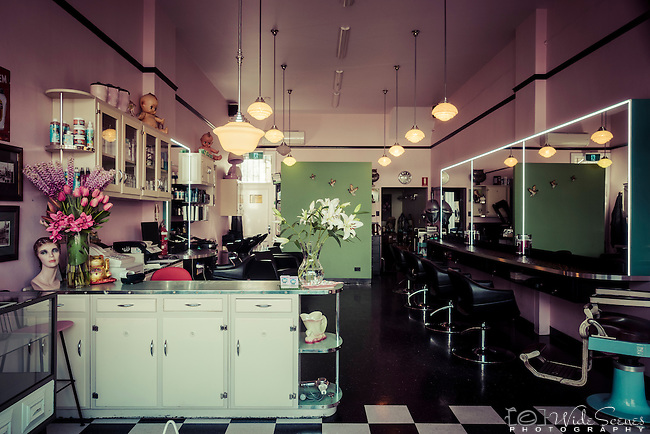 Retro Hair Salon In Newtown Nsw Australia Widescenes Photography