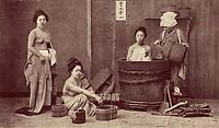bain exterieur au japon avant 1902