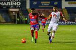 Deportivo Pasto venció como local 3-1 a Independiente Santa Fe. Fecha 12 Liga Águila I-2017.
