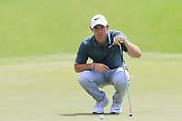 Rory McIlroy (NIR) on the 1st green during Saturday's Round 3 of the 2017 PGA Championship held at Quail Hollow Golf Club, Charlotte, North Carolina, USA. 12th August 2017.<br /> Picture: Eoin Clarke | Golffile<br /> <br /> <br /> All photos usage must carry mandatory copyright credit (&copy; Golffile | Eoin Clarke)
