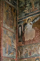 white angel,fresco,nave,northern wall,Milesheva  Monastery of Ascension of the Lord , 1234-1235