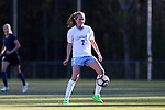 CARY, NC - APRIL 08: North Carolina's Annie Kingman. The NWSL's North Carolina Courage played a preseason game against the University of North Carolina Tar Heels on April 8, 2017, at WakeMed Soccer Park Field 3 in Cary, NC. The Courage won the match 1-0.