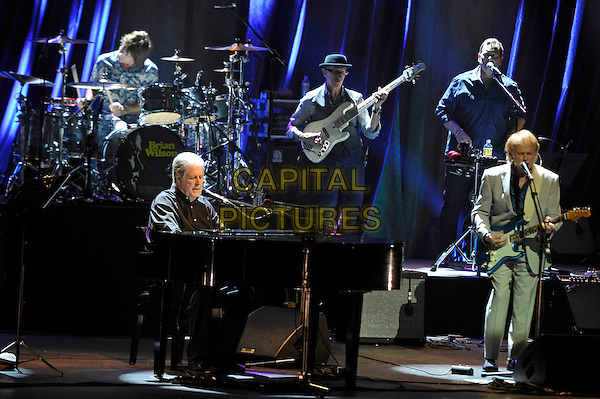 LONDON, ENGLAND - MAY 20: Brian Wilson and Al Jardine performing at the London Palladium on May 20, 2016 in London, England.<br /> CAP/MAR<br /> &copy; Martin Harris/Capital Pictures