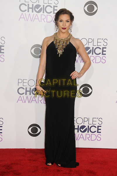 6 January 2016 - Los Angeles, California - Allison Holker. People's Choice Awards 2016 - Arrivals held at The Microsoft Theater. <br /> CAP/ADM/BP<br /> &copy;BP/ADM/Capital Pictures