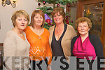 Pictured at Kerry County Councils Christmas party in the Heights hotel, Killarney on Saturday night were Marie Sheehy, Ann McCarthy, Mary O'Halloran and Chris Murnane.   Copyright Kerry's Eye 2008