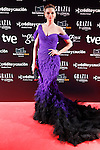 Actress Norma Ruiz attends Goya Cinema Awards 2014 red carpet at Centro de Congresos Principe Felipe on February 9, 2014 in Madrid, Spain. (ALTERPHOTOS/Victor Blanco)
