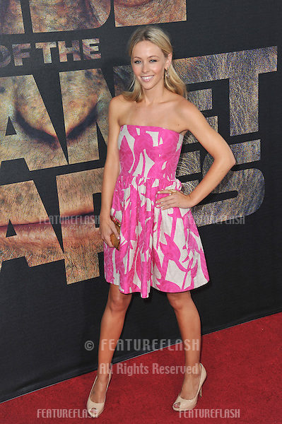 "Emily Montague at the Los Angeles premiere of ""Rise of the Planet of the Apes"" at Grauman's Chinese Theatre, Hollywood..July 28, 2011  Los Angeles, CA.Picture: Paul Smith / Featureflash"
