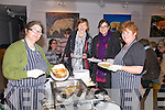 Pancakes were the order of the night at the International Women's Day event held in Tech Amergin, Waterville on Tuesday night, pictured l-r; Lorraine Regan, Trish Walsh, Anne Murphy & Fiona Fitzpatrick.