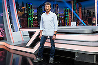 Spanih actor Pablo Motos during the presentation of the new season of the tv show · El Hormiguero · of Antena 3 channel. September 01, 2016. (ALTERPHOTOS/Rodrigo Jimenez) NORTEPHOTO