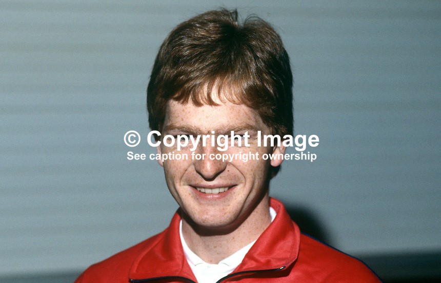 Willy Hosey, Fitzwilliam Club, Dublin, Irish squash player, 19840158WH1..Copyright Image from Victor Patterson, 54 Dorchester Park, Belfast, UK, BT9 6RJ..Tel: +44 28 9066 1296.Mob: +44 7802 353836.Voicemail +44 20 8816 7153.Skype: victorpattersonbelfast.Email: victorpatterson@me.com.Email: victorpatterson@ireland.com (back-up)..IMPORTANT: If you wish to use this image or any other of my images please go to www.victorpatterson.com and click on the Terms & Conditions. Then contact me by email or phone with the reference number(s) of the image(s) concerned.