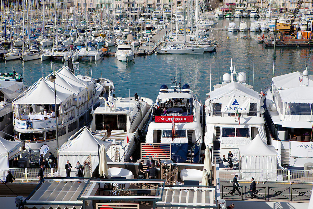 The port during MIPIM 2013, Palais des Festivals, Cannes, France, 13 March 2013