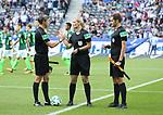 10.09.2017, OLympiastadion, Berlin, GER, 1.FBL, Hertha BSC VS. SV Werder Bremen, im Bild <br /> Schiedsrichterin  Bibiane Steinhaus<br /> <br /> <br />       <br /> Foto &copy; nordphoto / Engler