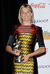 Sienna Miller honored with supporting actress of the year at the Showest 2009 Awards held at the Paris Hotel in Las Vegas Nevada, April 2, 2009. Fitzroy Barrett