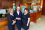 Mike Gavin, Ciara Cronin and Emer Guinan  in Kenmare Credit Union on Friday