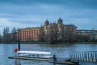 Hammersmith. London. United Kingdom,  2018 Men's Head of the River Race.  location Barnes Bridge, Championship Course, Putney to Mortlake. River Thames, <br /> <br /> Sunday   11/03/2018<br /> <br /> [Mandatory Credit:Peter SPURRIER Intersport Images]<br /> <br /> Leica Camera AG  M9 Digital Camera  1/4000 sec. 50 mm f. 160 ISO.  17.5MB