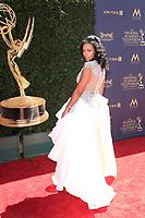 PASADENA - APR 30: Mishael Morgan at the 44th Daytime Emmy Awards at the Pasadena Civic Center on April 30, 2017 in Pasadena, California