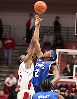 University of Memphis vs University of Cincinnati Men's Basketball, 12/19/2007.   Robert Dozier (Memphis #2) John Williamson .University of Memphis vs University of Cincinnati Men's Basketball final score 79 to 69 Memphis Winning, 12/19/2007.