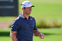 Paul Casey (GBR) after sinking his putt on 9 during round 2 of the Honda Classic, PGA National, Palm Beach Gardens, West Palm Beach, Florida, USA. 2/24/2017.<br /> Picture: Golffile | Ken Murray<br /> <br /> <br /> All photo usage must carry mandatory copyright credit (&copy; Golffile | Ken Murray)