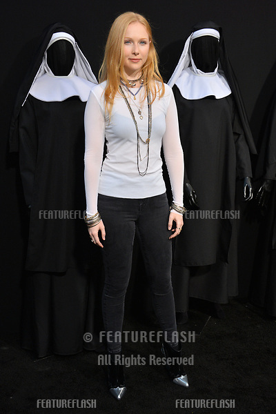 """LOS ANGELES, CA. September 04, 2018: Molly Quinn at the world premiere of """"The Nun"""" at the TCL Chinese Theatre, Hollywood."""