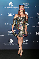 LOS ANGELES - JAN 5:  Amy Paffrath at the Art of Elysium 12th Annual HEAVEN Celebration at a Private Location on January 5, 2019 in Los Angeles, CA
