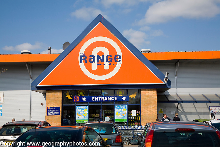 The Range Home and Leisure store, Ipswich, England