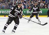 Ross Mauermann (PC - 14) - The Providence College Friars defeated the Boston University Terriers 4-3 to win the national championship in the Frozen Four final at TD Garden on Saturday, April 11, 2015, in Boston, Massachusetts.