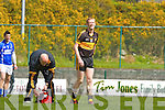 Gooch feels the pain after he landed badly on his ankle against Laune Rangers during their  Club Championship semi final in Killarney on Sunday