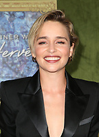 4 October 2018-  Hollywood, California - Emilia Clarke, HBO Films' &quot;My Dinner With Herve&quot; Premiere held at Paramount Studios. <br /> CAP/ADM/FS<br /> &copy;FS/ADM/Capital Pictures