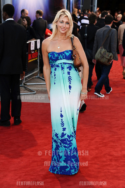 "Ali Bastian arrives for the premiere of ""Cowboys and Aliens"" at the 02 cineworld cinema, London. 11/08/2011 Picture by: Steve Vas / Featureflash"