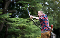 29/08/18<br /> <br /> Archer, Lee Ramsdale, originally from Nottinghamshire, practices at Tissington Hall, Derbyshire. Lee, who now lives in and competes for Spain, is seeded third in Spain. <br />  <br /> All Rights Reserved: F Stop Press Ltd. +44(0)1335 344240  www.fstoppress.com www.rkpphotography.co.uk