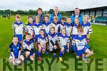 The Keel U10 boys and girls taking part in the annual John Mitchels U8/U10 Blitz on Saturday.