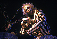 Beetlejuice (1988)<br /> Michael Keaton <br /> *Filmstill - Editorial Use Only*<br /> CAP/MFS<br /> Image supplied by Capital Pictures