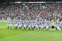 VOETBAL: HEERENVEEN, 18-08-2013, SC Heerenveen - Heracles 2-4, Line Up, ©foto Martin de Jong