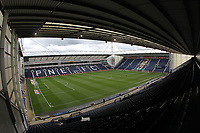 A general view of the Deepdale Stadium the home of Preston North End<br /> <br /> Photographer Mick Walker/CameraSport<br /> <br /> The EFL Sky Bet Championship - Preston North End v Bristol City - Saturday 2nd March 2019 - Deepdale Stadium - Preston<br /> <br /> World Copyright © 2019 CameraSport. All rights reserved. 43 Linden Ave. Countesthorpe. Leicester. England. LE8 5PG - Tel: +44 (0) 116 277 4147 - admin@camerasport.com - www.camerasport.com