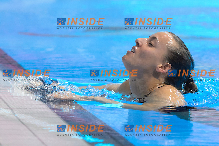 Tania CAGNOTTO ITA Gold Medal <br /> Women's 3m Synchronized Springboard<br /> London, Queen Elizabeth II Olympic Park Pool <br /> LEN 2016 European Aquatics Elite Championships <br /> Diving  <br /> Day 07 15-05-2016<br /> Photo Andrea Staccioli/Deepbluemedia/Insidefoto